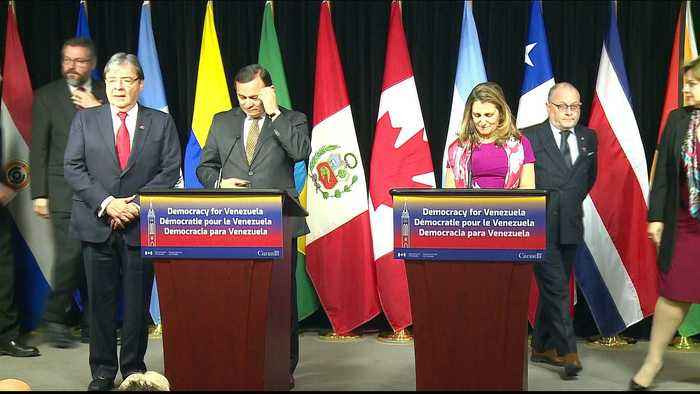Lima group reaffirms support for Guaido