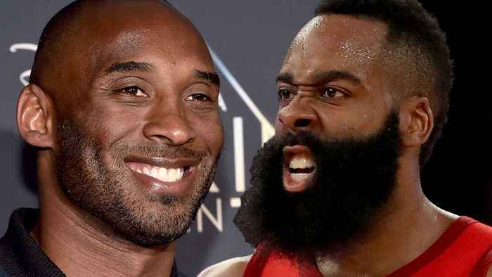 "Kobe Bryant Shades James Harden! ""He WON'T Win A Ring"" & Thinks AD Trade to Lakers is 'Smart'"