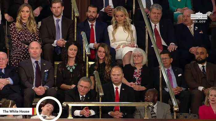 Joshua Trump Emerges As Viral Star After Appearing To Fall Asleep During State Of The Union Address