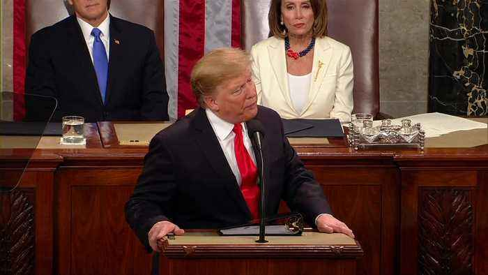 Pelosi all ears as Trump calls for abortion ban