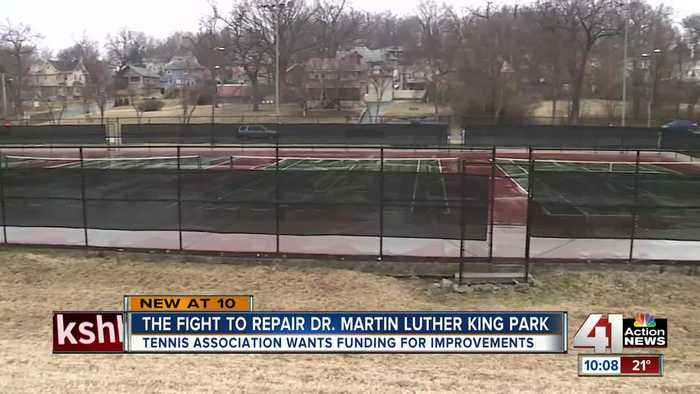 Group pushes for repairs to Martin Luther King, Jr. Park