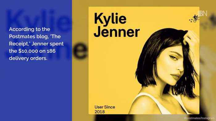 What Did Kylie Jenner Buy At Postmates For 10k