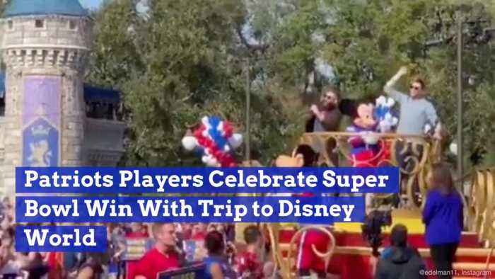 New England Patriots Players Hit The Streets Of Disney World