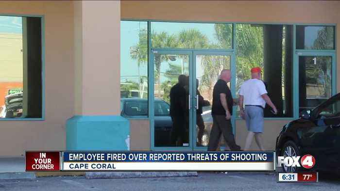 Employee fired after allegedly making mass shooting threat at Cape Coral pizzeria