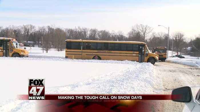 Ahead of storm, some schools already at snow day limit