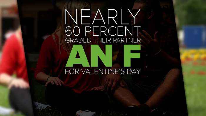 Partners Can Give Low Grades For Valentine's Day
