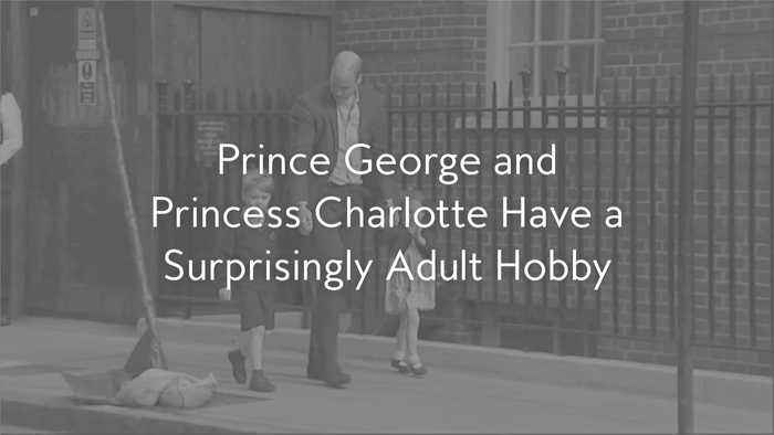 Prince George and Princess Charlotte Have a Surprisingly Adult Hobby