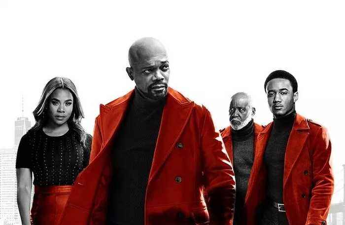 SHAFT Movie - Jessie T. Usher and Samuel L. Jackson