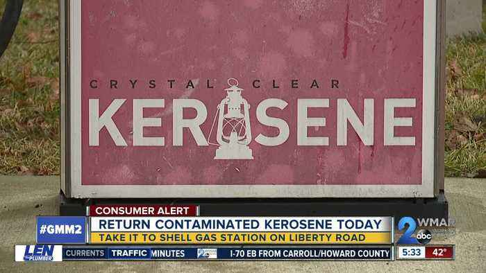 Kerosene contaminated with gasoline sold at Windsor Mill gas station