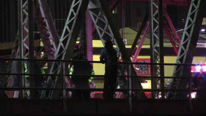 Newark Police Rescue 'Suicidal Man' From Passaic River