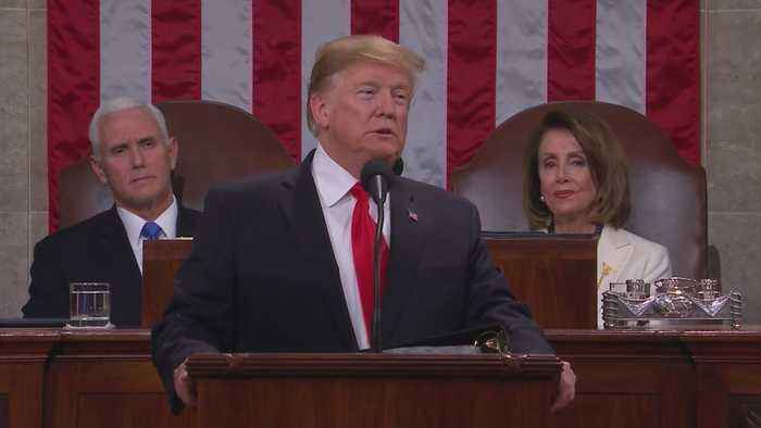 Reactions Divided After President Trump's SOTU Address