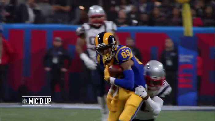 Mic'd Up: New England Patriots go wild after cornerback Stephon Gilmore's INT | Super Bowl LIII