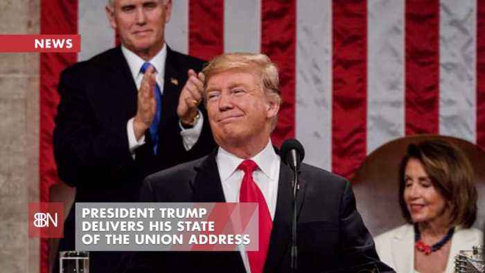 President Trump Delivers A Strong State Of The Union Address
