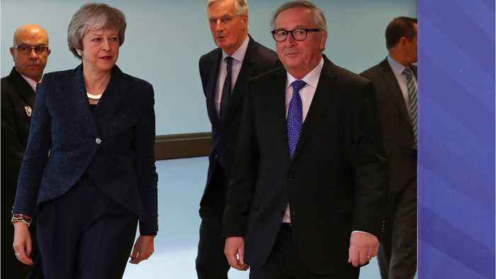 EU's Juncker, And UK's May 'Working Together' To Find Brexit Solution