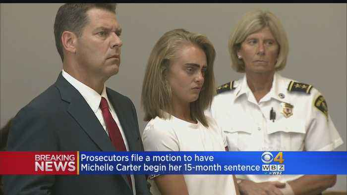 Prosecutors File Motion To Have Michelle Carter Begin 15-Month Sentence