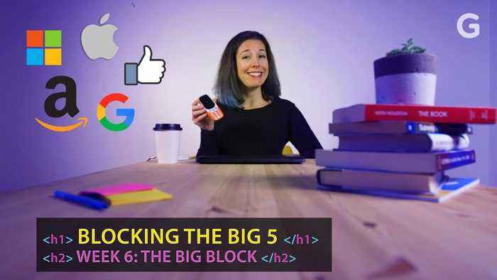 Cutting the 'Big Five' Tech Companies From My Life Was Hell | Blocking Tech Giants: Week 6