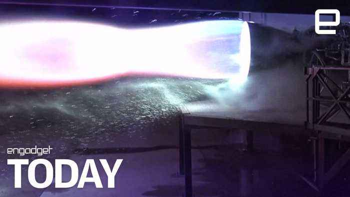 Elon Musk shares footage of SpaceX's latest Mars rocket test | Engadget Today
