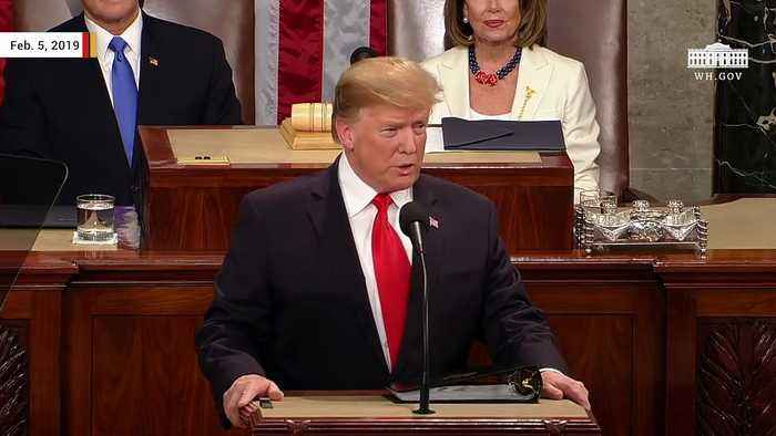 Trump: 'So Nice How Well My State Of The Union speech Was Received'
