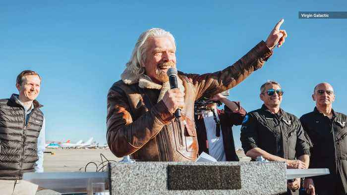 Richard Branson Says He's Heading to Space by July