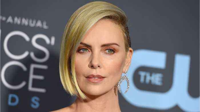 Charlize Theron Shares Throwback Pic From Modeling Days