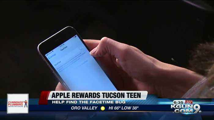Tucson boy who discovered Facetime bug receives award from Apple