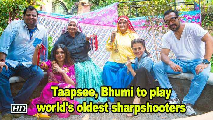 Taapsee, Bhumi to play world's oldest sharpshooters | Shooter Dadi