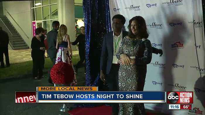 Tim Tebow hosts Night to Shine prom at Tampa church