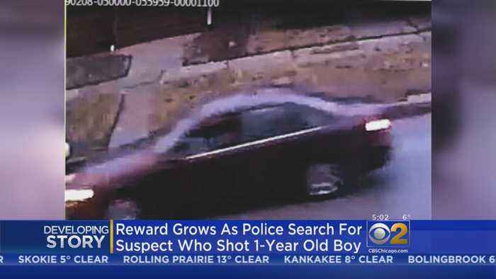Surveillance Photos Released As Search For Suspect In 1-Year-Old's Shooting Continues