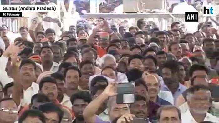 CM Naidu promised 'sun' rise in AP but got involved is rising his own 'son': PM Modi