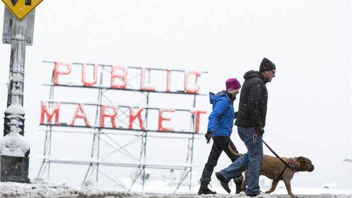 Washington State Deals With More Usual Winter Weather
