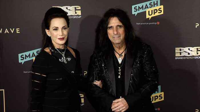 Alice Cooper 2019 Primary Wave Grammy Party Red Carpet