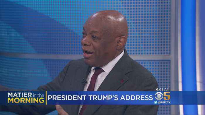 KPIX's Phil Matier, Melissa Caen and Willie Brown talk about President Trump's State of Union Address