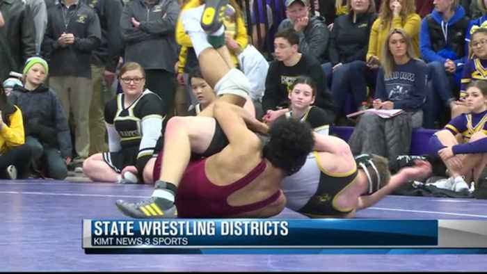 Iowa state wrestling districts part one