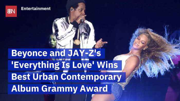 Beyonce And Jay Z Win A Grammy For 'Everything Is Love'