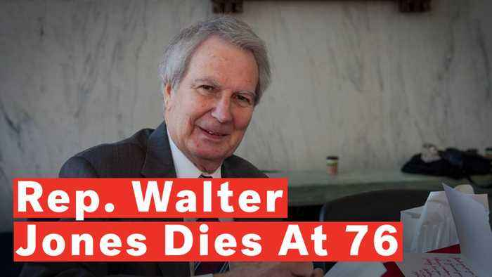 North Carolina Rep. Walter Jones Dies At 76