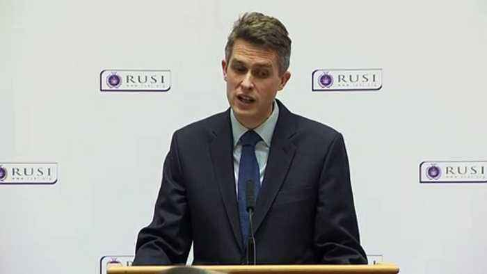 Gavin Williamson: Britain must be prepared to use 'hard power'