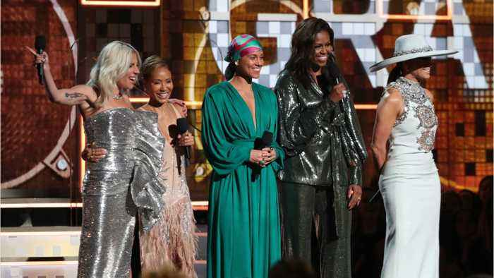 Michelle Obama Makes Surprise Grammy Appearance