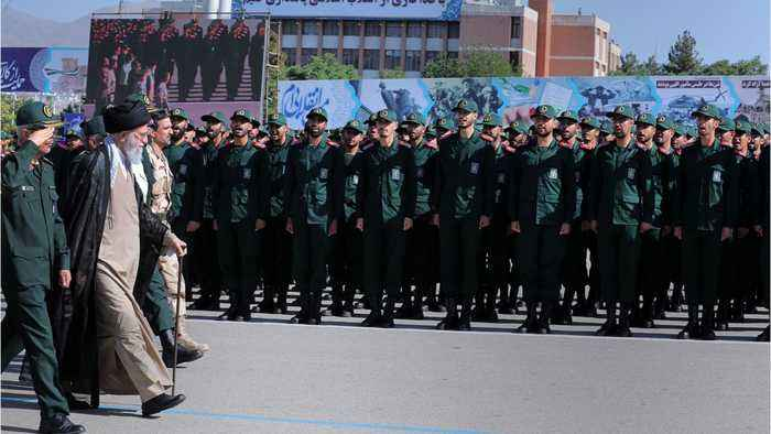 Iran's Revolutionary Guards Says U.S. Forces Should Leave