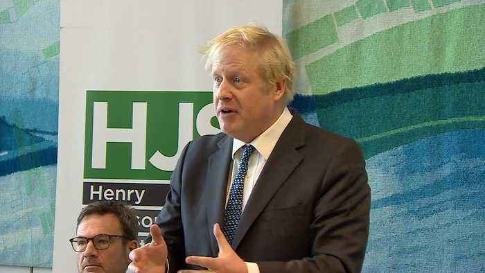 Boris Johnson: 'Labour will try to trap Theresa May'