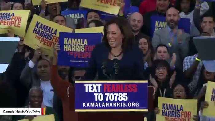 Kamala Harris Says She's Tried Marijuana: 'I Did Inhale'