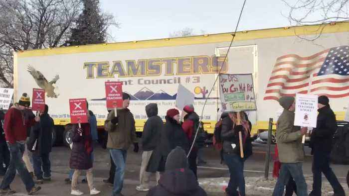 Denver Teachers Strike For First Time In 25 Years