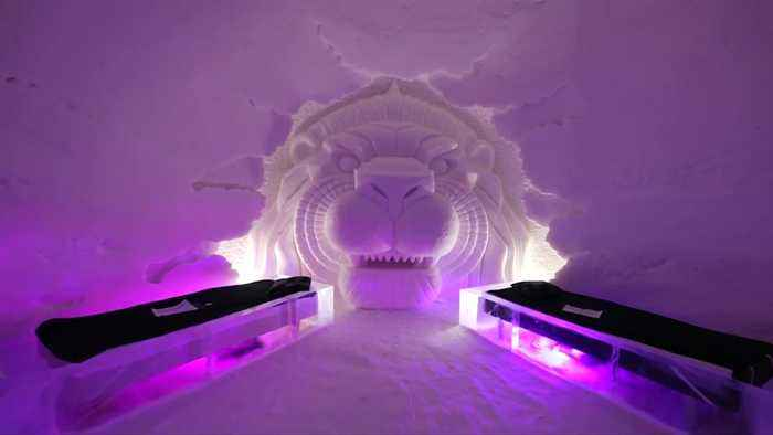 'Winter has come' to Game of Thrones ice hotel in Lapland