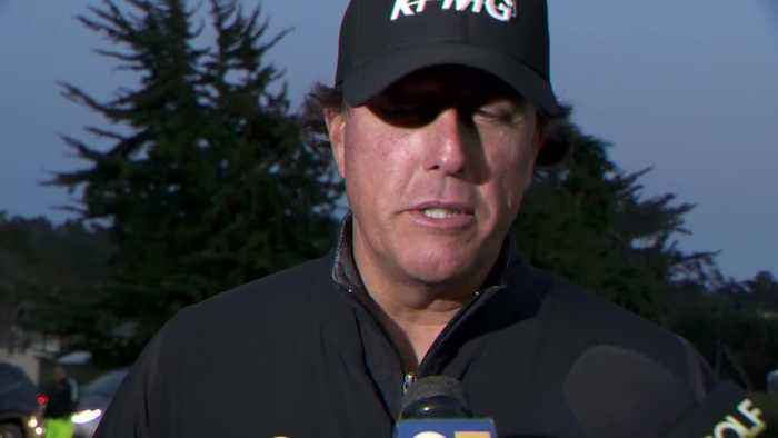 Mickelson and Casey React To Play Suspension At Pebble Beach