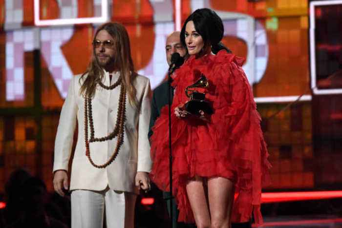 Kacey Musgraves Wins Album of the Year at 2019 Grammys for 'Golden Hour'