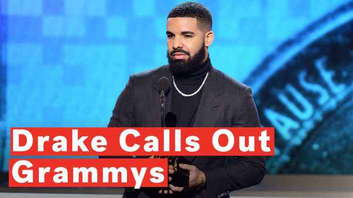 Drake Cut Off Mid-Acceptance Speech During 2019 Grammys