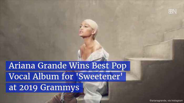 Ariana Grande Wins A Grammy Without Showing Up