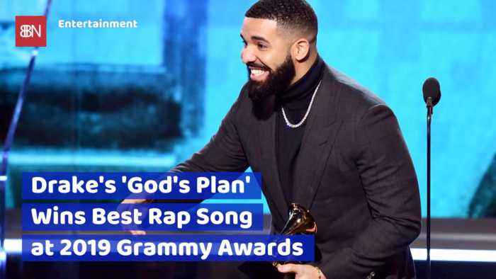 Gods Plan Wins For Drake As The Best Rap Song At The 2019 Grammy Awards
