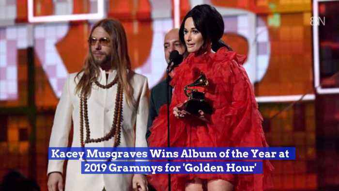 The Grammys 2019 Album Of The Year Goes To Kacey Musgraves