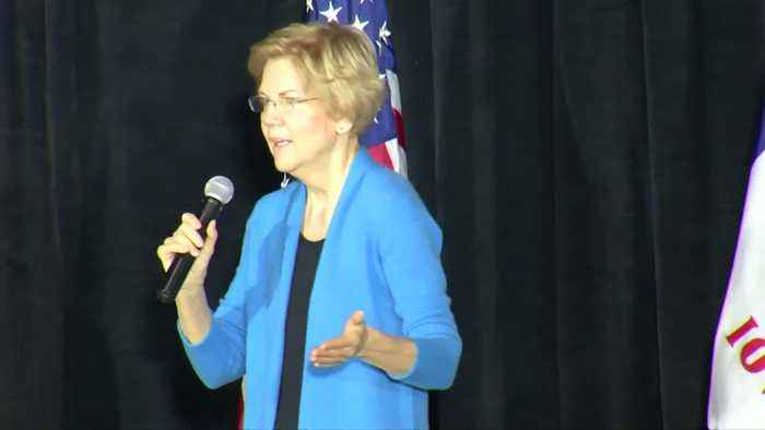 Trump may not be 'free person' by 2020: Warren
