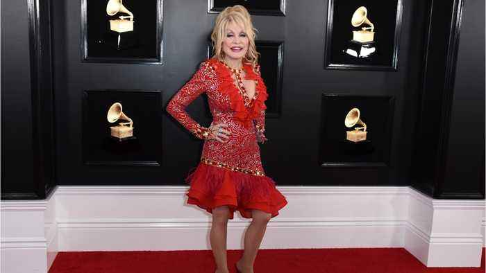 Dolly Parton Steals The Show At The Grammys